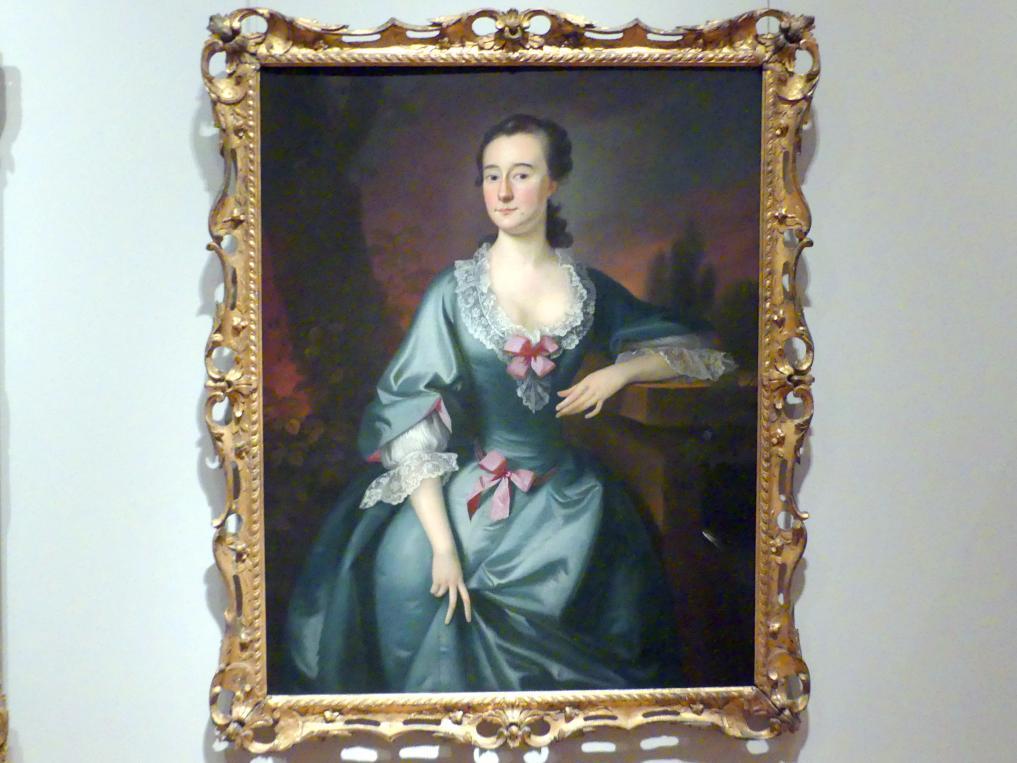 Joseph Blackburn: Mrs. David Chesebrough, 1754