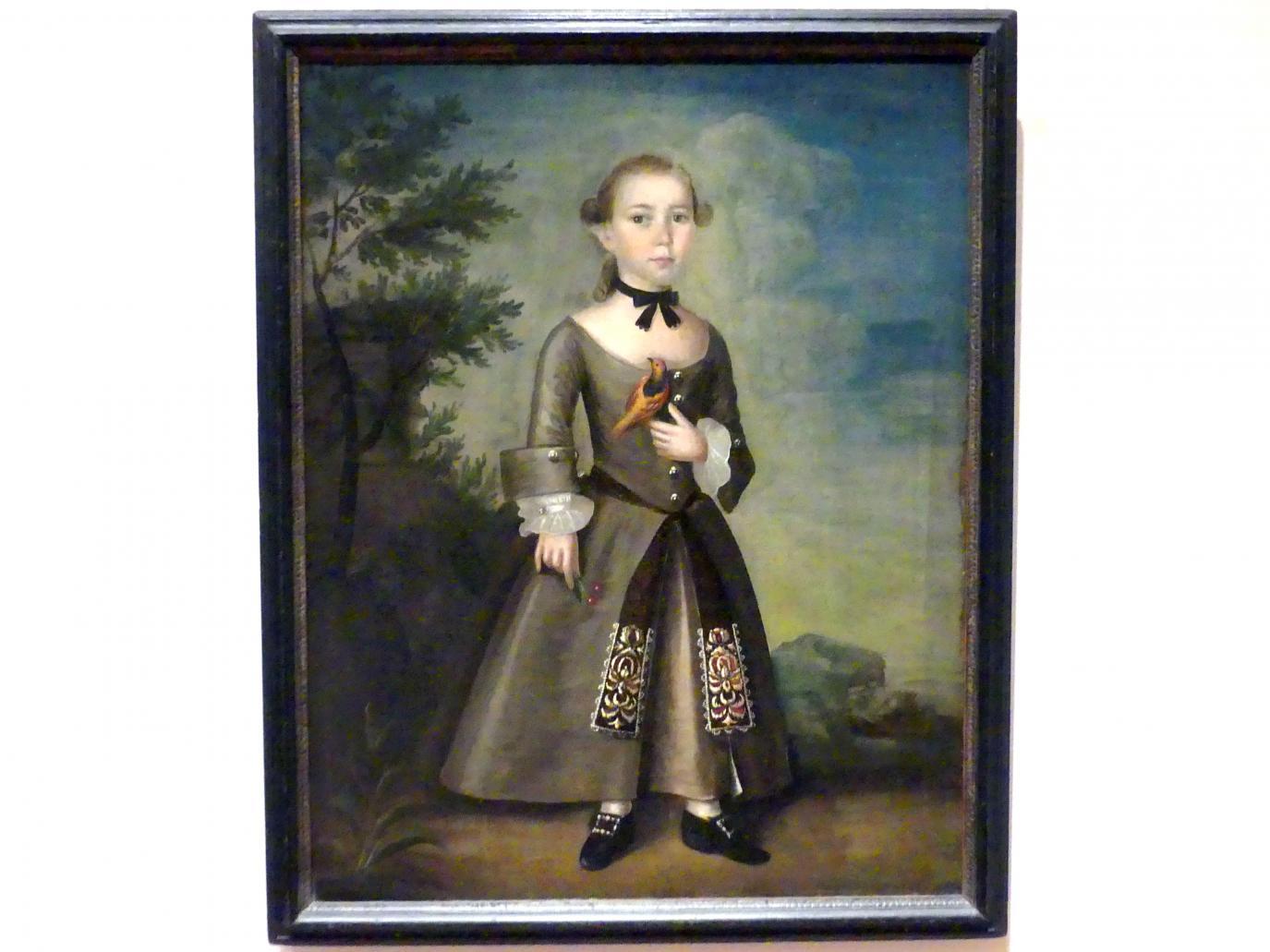 Joseph Badger: James Badger, 1760