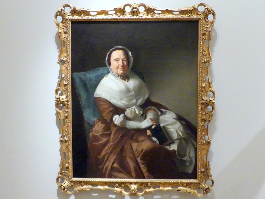 John Singleton Copley: Mrs. Sylvanus Bourne, 1766