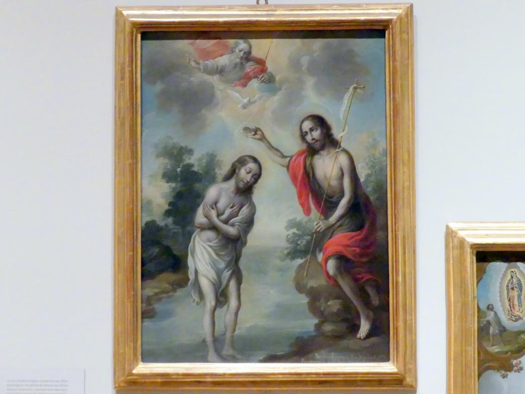 Nicolás Enríquez: Taufe Christi, 1773