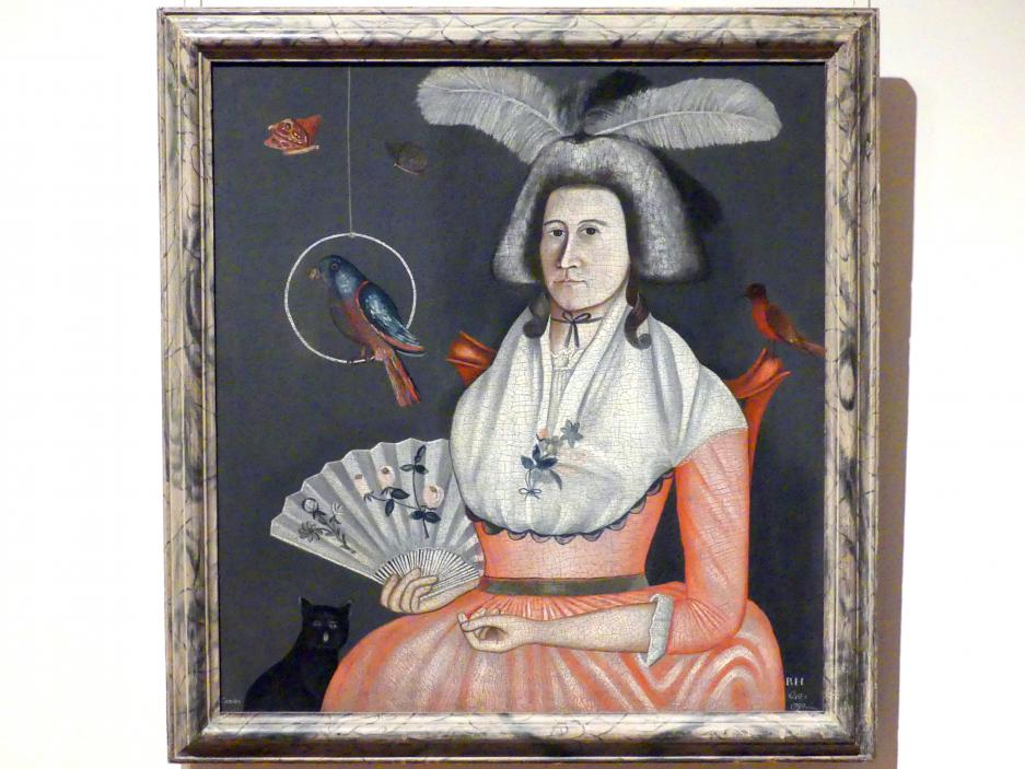 Rufus Hathaway: Molly Wales Fobes, 1790