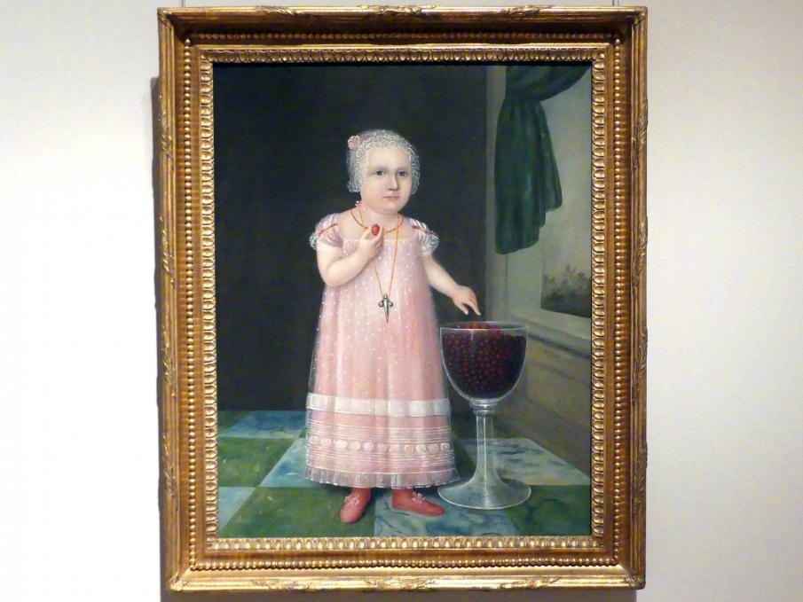 Joshua Johnson: Emma Van Name, um 1805