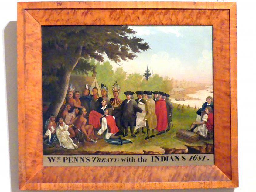 Edward Hicks: Penns Verhandlungen, 1836