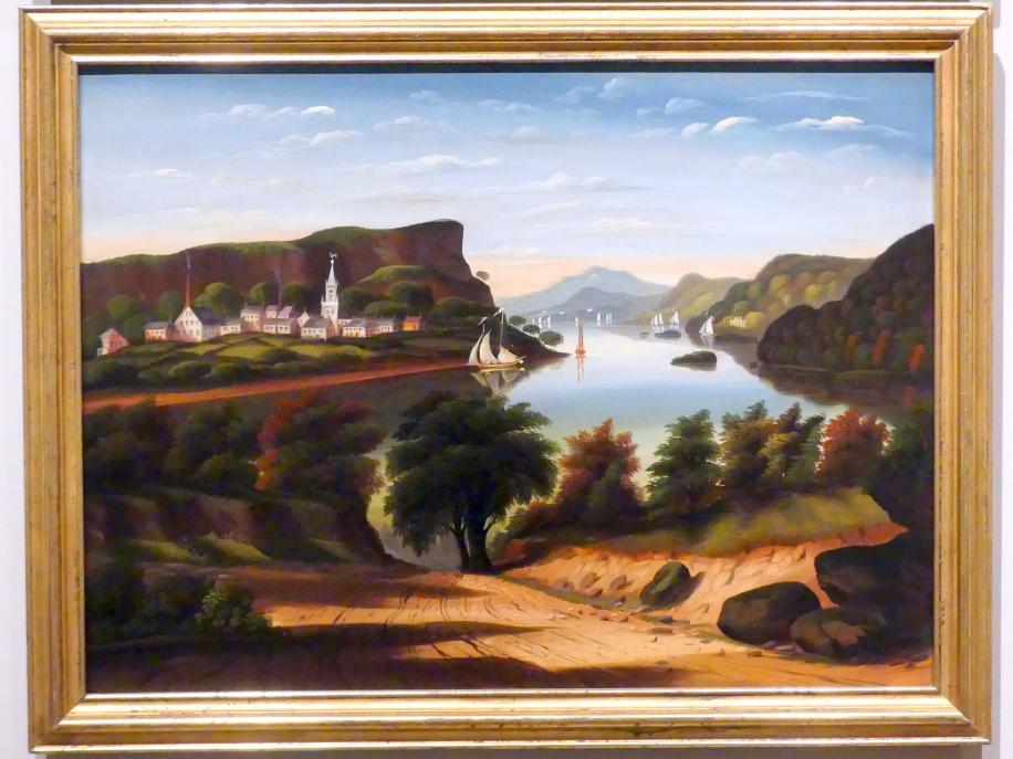 Thomas Chambers: Lake George und das Dorf Caldwell, um 1843 - 1860