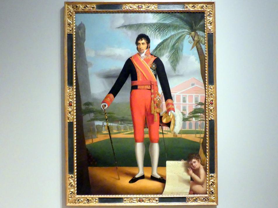Eliab Metcalf: Porträt von Miguel de la Torre y Pando, 1826