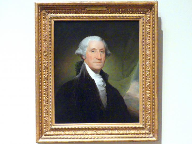 Gilbert Stuart: George Washington, 1795