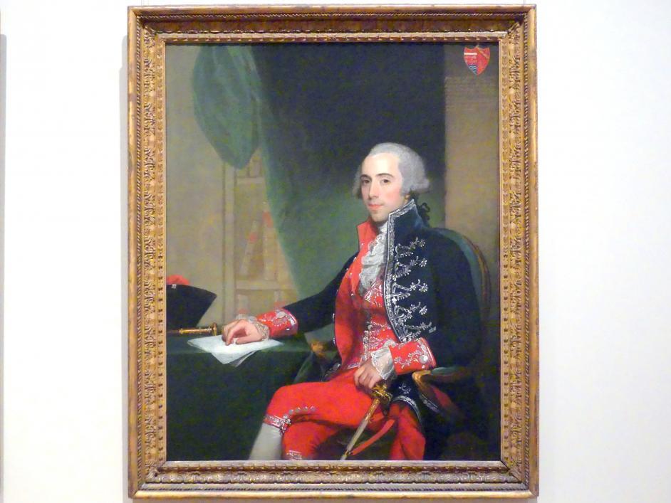 Gilbert Stuart: Josef de Jaudenes y Nebot, 1794