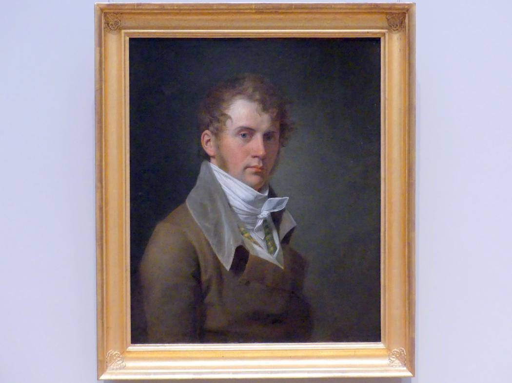 John Vanderlyn: Selbstporträt, 1800