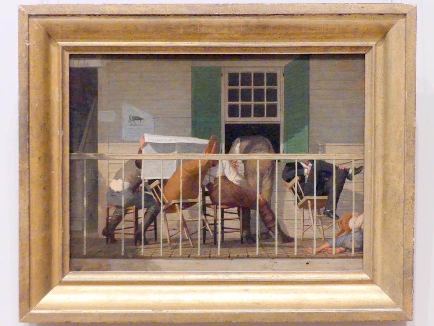 Enoch Wood Perry: Die echten Amerikaner, um 1874