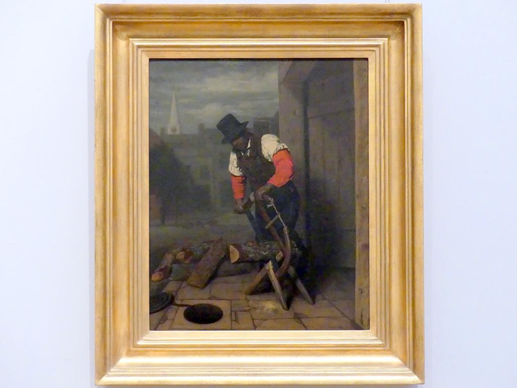 Charles E. Weir: Der Holzsäger, 1842