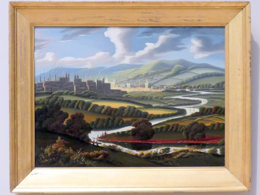 Thomas Chambers: Blick auf Springfield, Massachusetts, auf den Connecticut River, um 1840 - 1845
