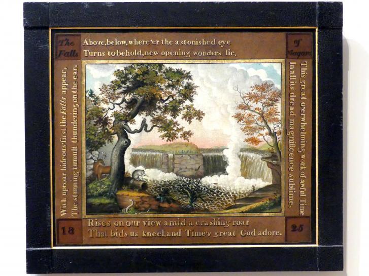 Edward Hicks: Die Niagarafälle, um 1825