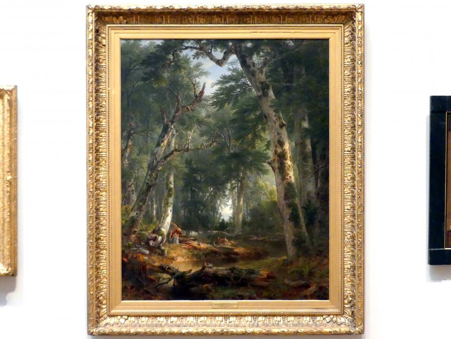 Asher Brown Durand: Im Wald, 1855