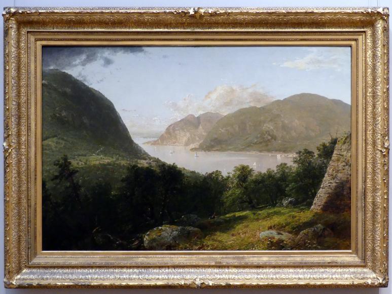 John Frederick Kensett: Hudson River Szene, 1857