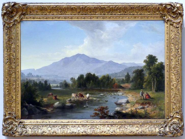 Asher Brown Durand: Höhepunkt: Shandaken Mountains, 1853