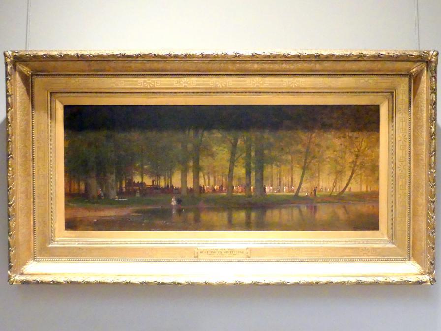 Worthington Whittredge: Das Camp Meeting, 1874