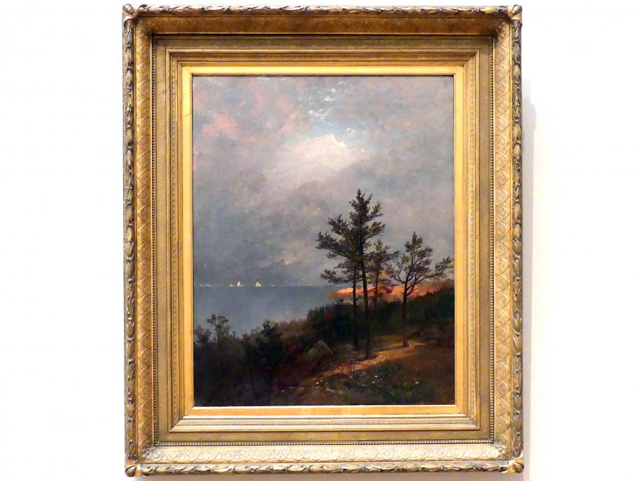 John Frederick Kensett: Aufziehender Sturm am Long Island Sound, 1872