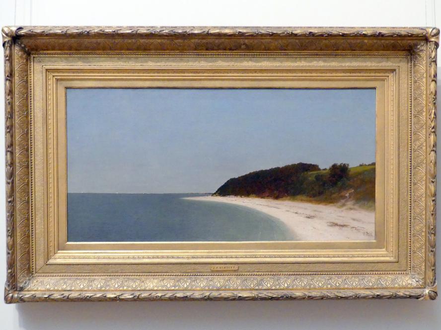 John Frederick Kensett: Eatons Neck, Long Island, 1872