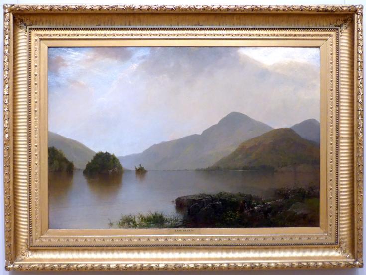 John Frederick Kensett: Lake George, 1869