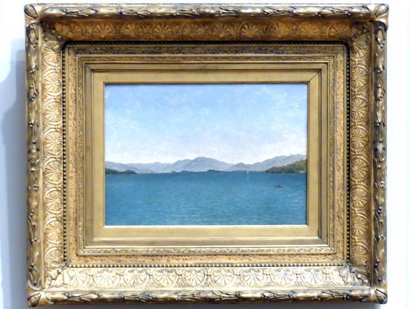 John Frederick Kensett: Lake George, Ölskizze, 1872