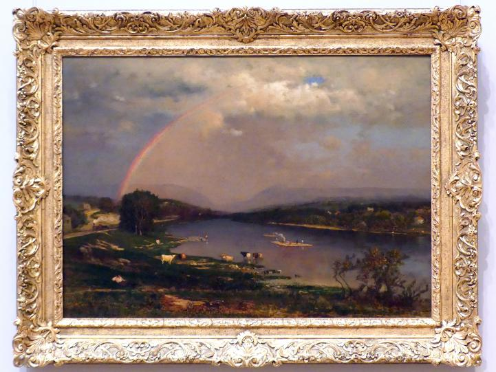 George Inness: Delaware Water Gap - Delaware-Durchbruch, 1861