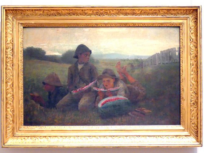Winslow Homer: The Watermelon Boys - Die Melonenburschen, 1876