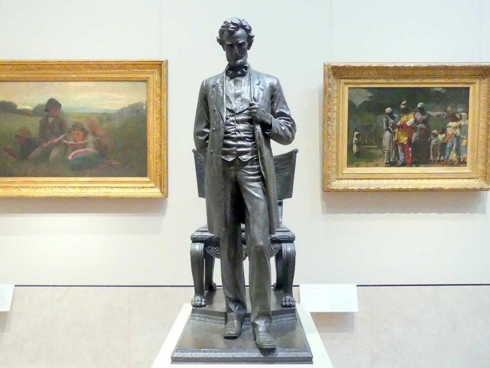 Augustus Saint-Gaudens: Abraham Lincoln: Der Mann (Standing Lincoln), 1884 - 1887