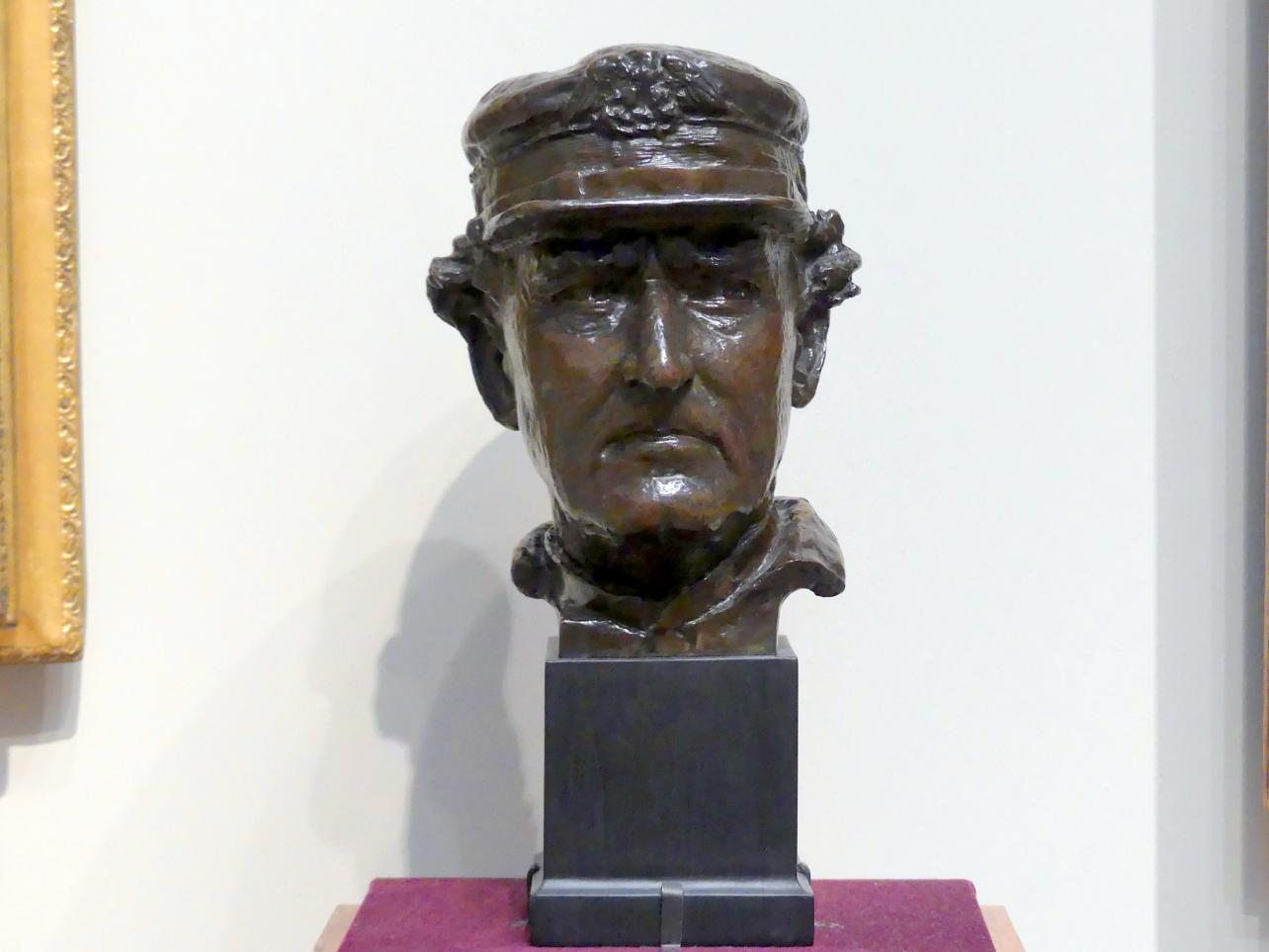 Augustus Saint-Gaudens: Admiral David Glasgow Farragut, 1879 - 1880