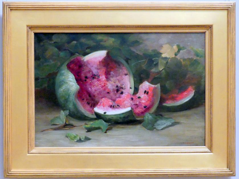 Charles Ethan Porter: Ohne Titel (Aufgebrochene Wassermelone), um 1890