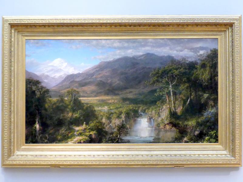 Frederic Edwin Church: Das Herz der Anden, 1859