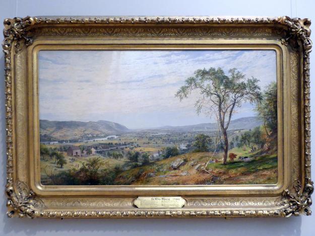 Jasper Francis Cropsey: Das Tal von Wyoming, 1865