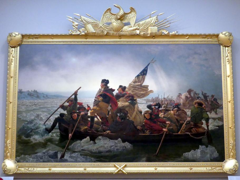 Emanuel Leutze: Washington überquert den Delaware, 1851