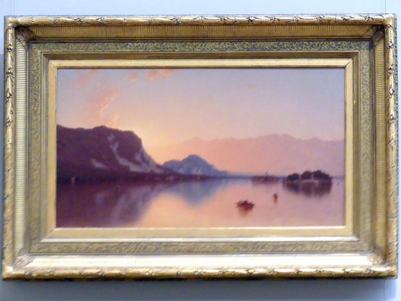 Sanford Robinson Gifford: Isola Bella im Lago Maggiore, 1871