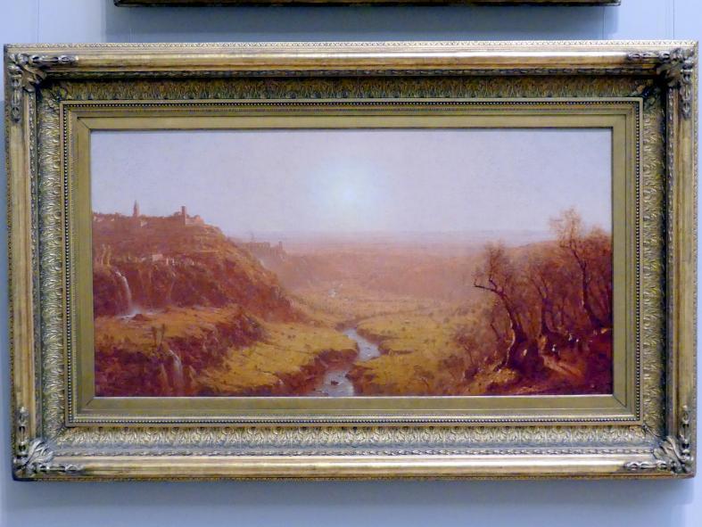 Sanford Robinson Gifford: Tivoli, 1870
