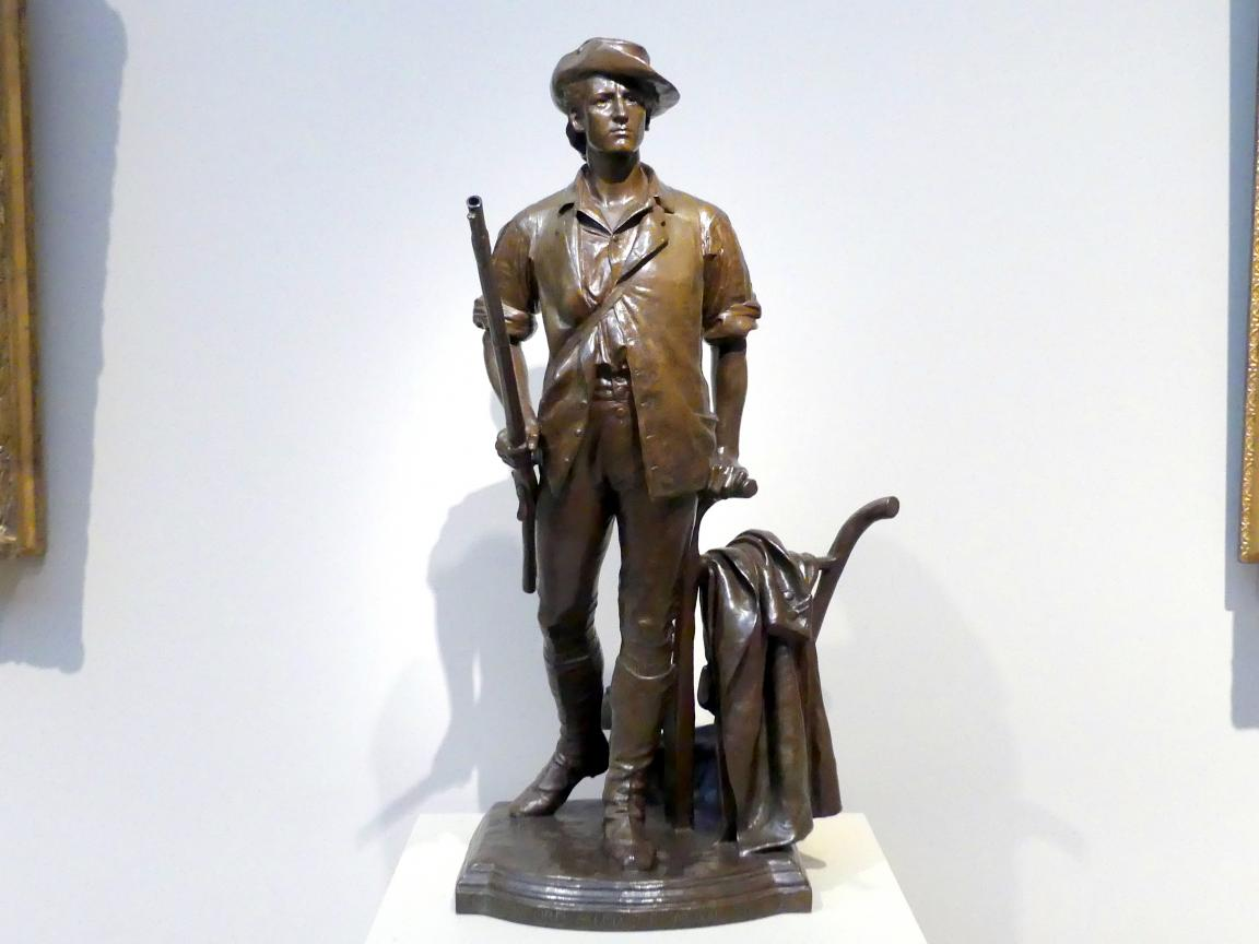 Daniel Chester French: Der Concord Minuteman von 1775, 1871 - 1875