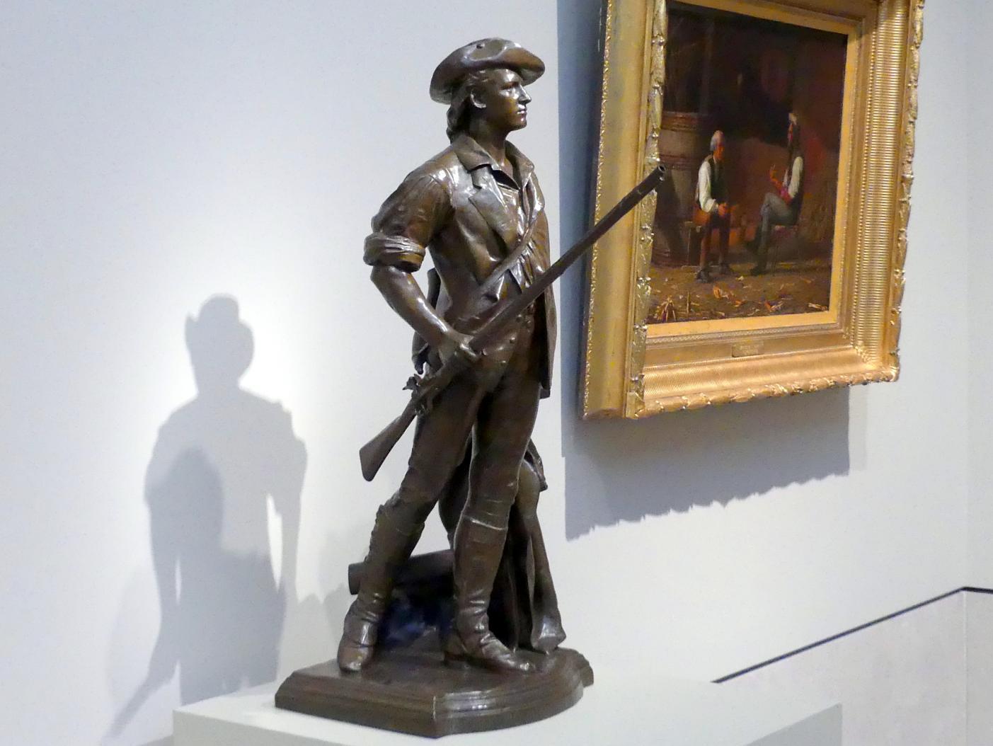 Daniel Chester French: Der Concord Minuteman von 1775, 1871 - 1875, Bild 3/4
