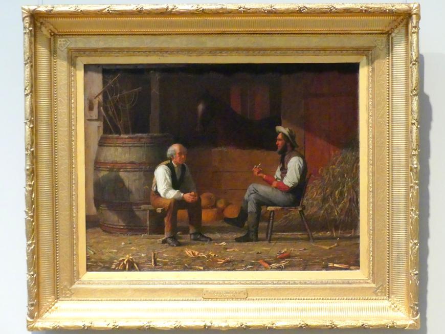 Enoch Wood Perry: Darüber reden, 1872