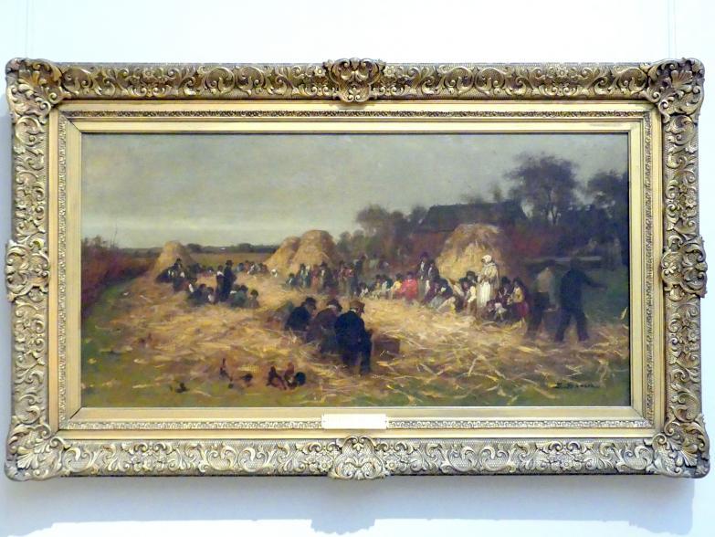 Eastman Johnson: Maisernte in Nantucket, um 1875