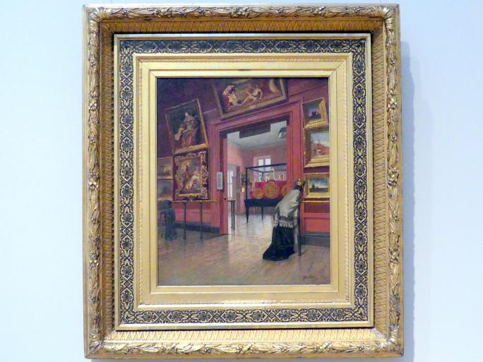 Frank Waller: Innenansicht des Metropolitan Museum of Art in der Fourteenth Street, 1881