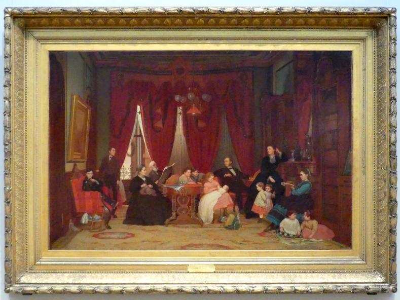 Eastman Johnson: Familie Hatch, 1870 - 1871