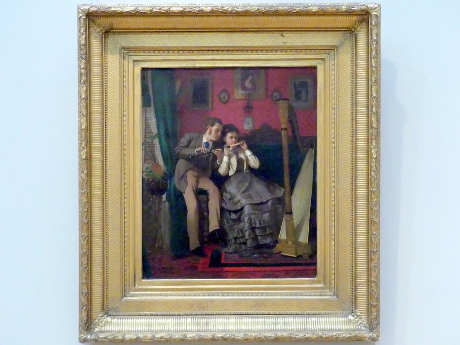 John George Brown: Die Musikstunde, 1870