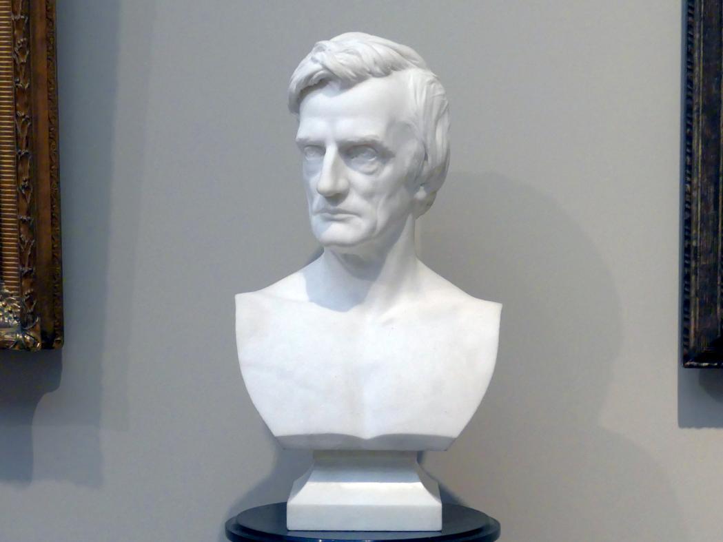 Augustus Saint-Gaudens: William Maxwell Evarts, 1872 - 1873