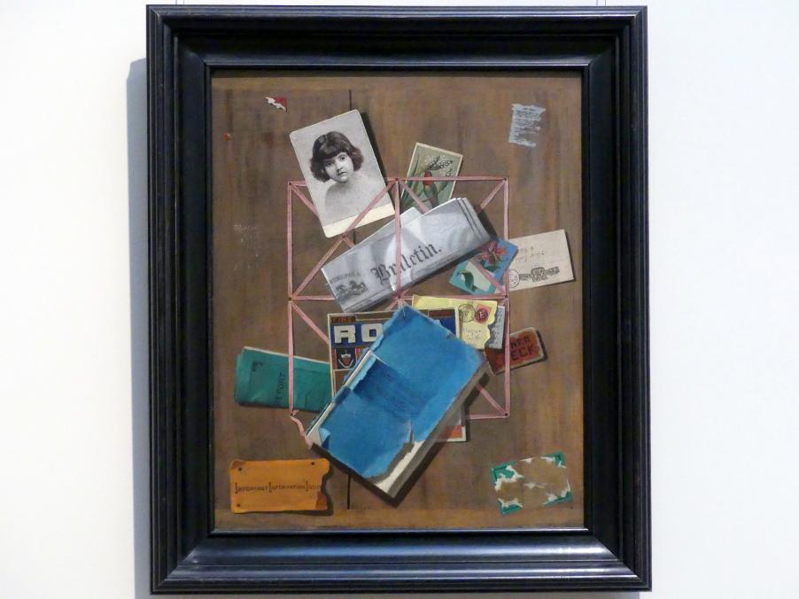 John Frederick Peto: Alte Souvenirs, um 1881 - 1901