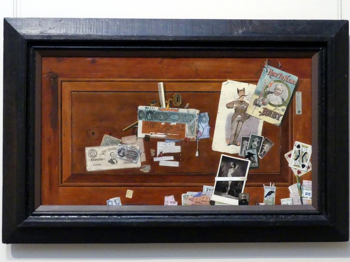 John Haberle: Die Schublade des Junggesellen - A Bachelor's Drawer, 1890 - 1894