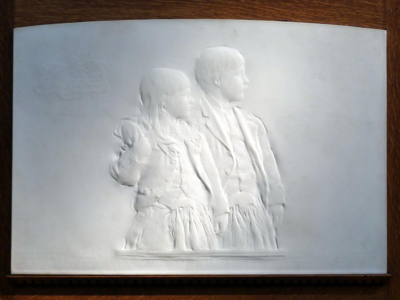Augustus Saint-Gaudens: Die Kinder von Prescott Hall Butler, 1880 - 1881