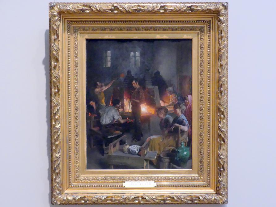 Charles Frederic Ulrich: Glasbläser von Murano, 1886