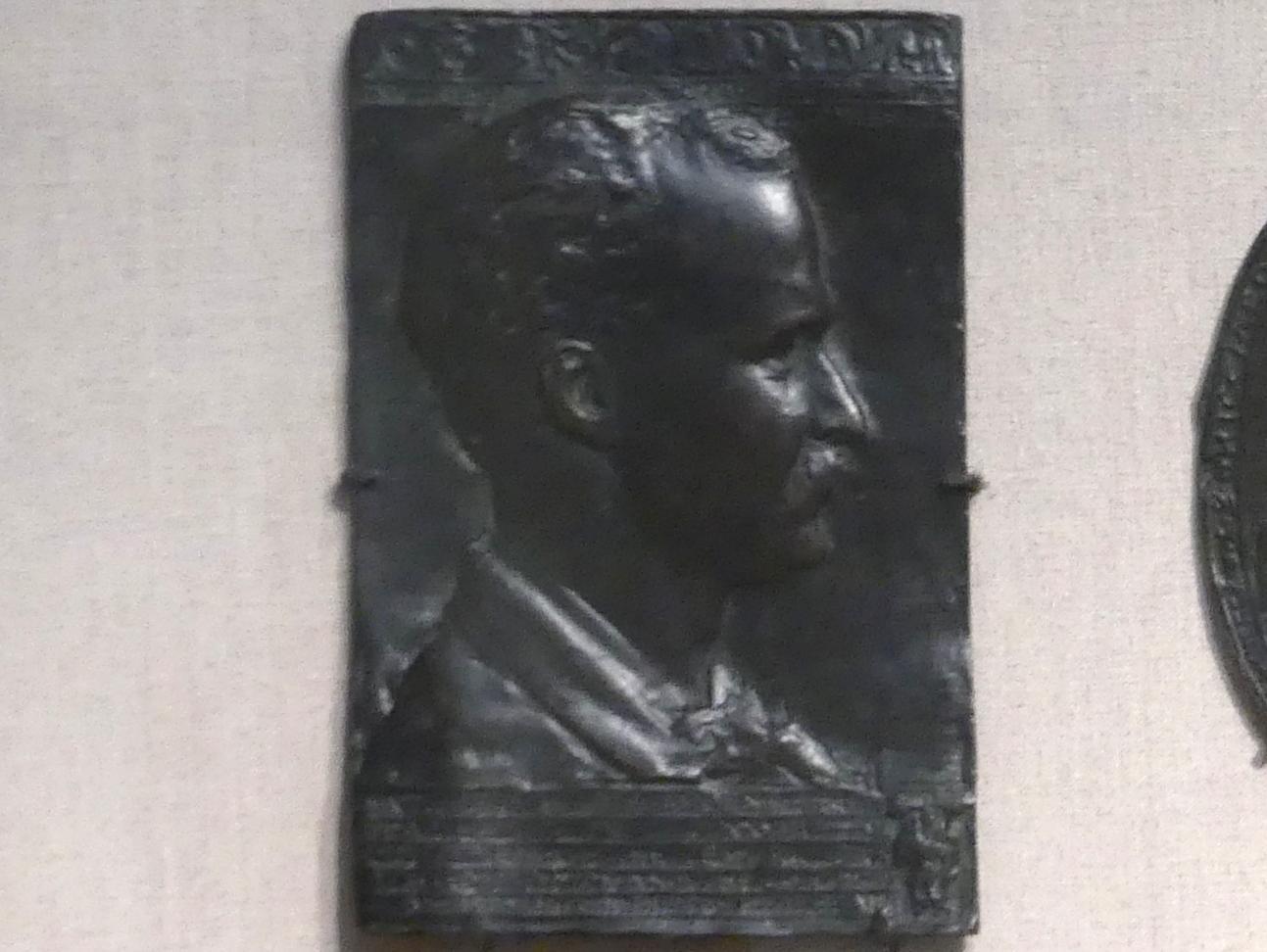 Augustus Saint-Gaudens: Charles F. McKim, 1878