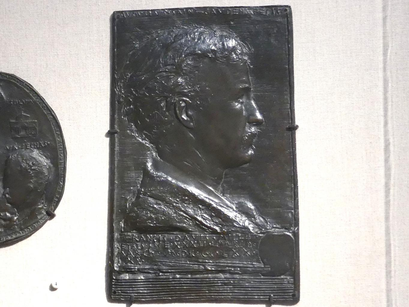 Augustus Saint-Gaudens: Francis Davis Millet, 1879