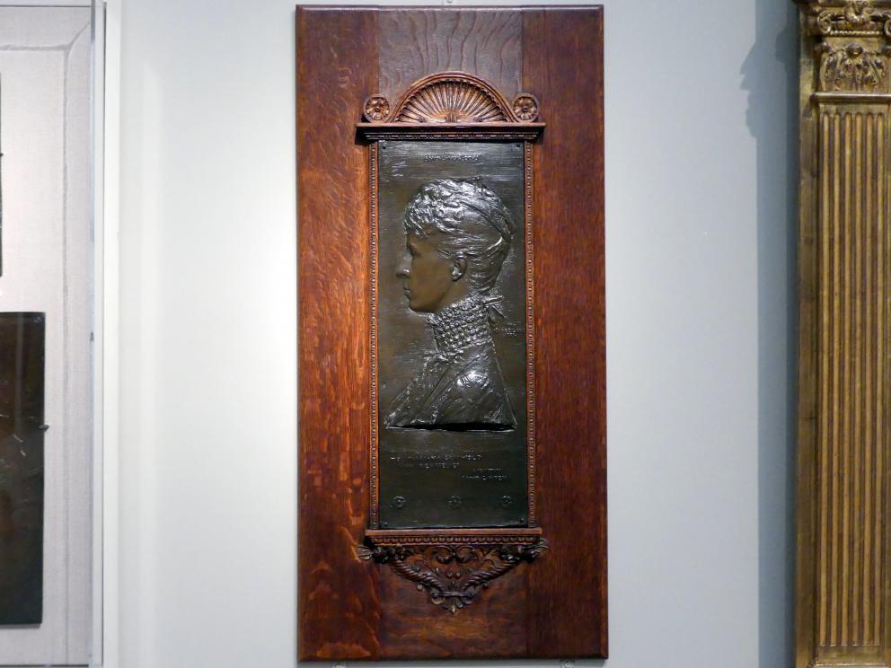 Augustus Saint-Gaudens: Frau Schuyler Van Rensselaer (Mariana Griswold), 1888