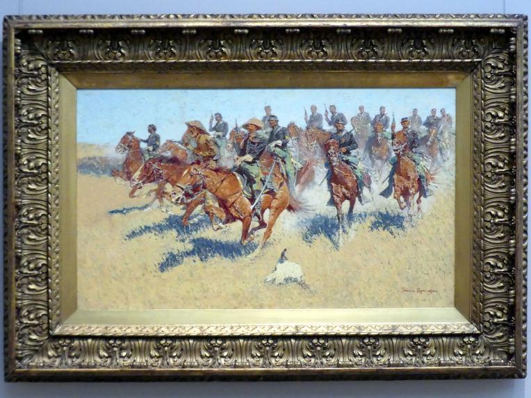 Frederic Remington: In den südlichen Ebenen, 1907